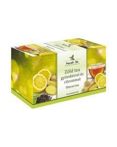 Mecsek Zöldtea citrom-gyömbér filteres tea