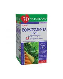 Naturland borsosmenta levél gyógynövénytea filteres