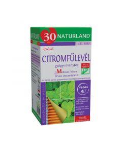 Naturland citromfűlevél gyógynövénytea filteres
