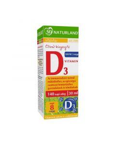 Naturland D3 vitamin étrend-kiegészítő csepp