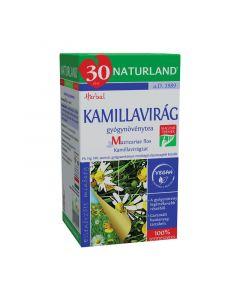 Naturland Kamillavirág gyógynövénytea filteres