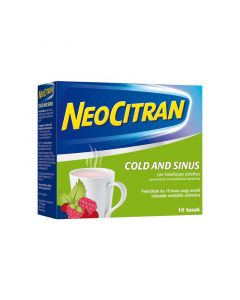 Neo Citran Cold and Sinus por belsőleges oldathoz
