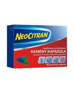 Neo Citran megfázásra/köhögésre kapszula (Pingvin Product)