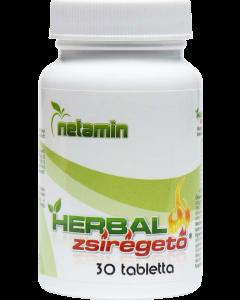 Netamin Herbál zsírégető tabletta