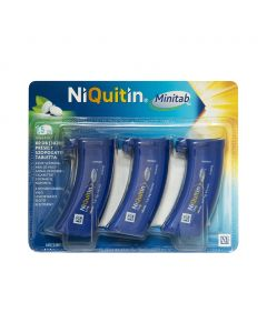 Niquitin Minitab 1,5 mg préselt szopogató tabletta - 60x (3x20)