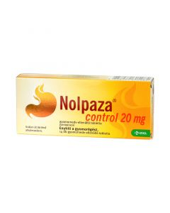 Nolpaza Control 20 mg gyomornedv-ellenálló tabletta