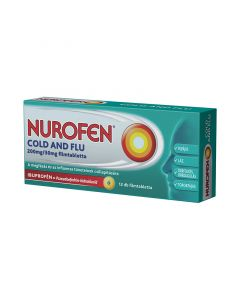 Nurofen Cold and Flu 200mg/30mg filmtabletta