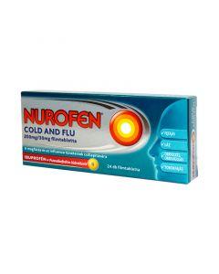 Nurofen Cold and Flu 200mg/30mg filmtabletta (Pingvin Product)