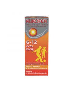 Nurofen 40mg/ml belsőleges gyermek szuszpenzió  narancs ízű