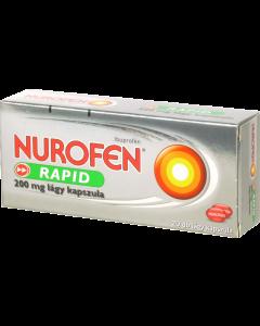 Nurofen Rapid 200 mg lágy kapszula