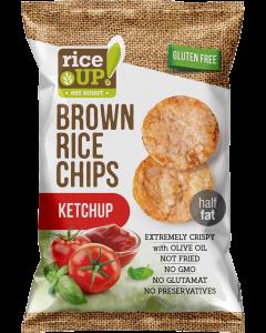 Rice Up rizs chips Ketchupos GM (Pingvin Product)