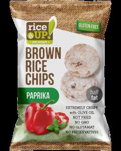 Rice Up rizs chips Paprikás (Pingvin Product)