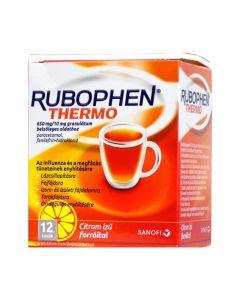 Rubophen Thermo 650mg/10mg granulátum belsődleges oldathoz