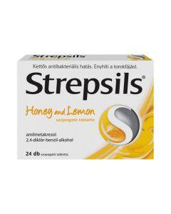 Strepsils Honey and lemon tabletta