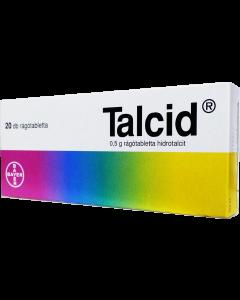 Talcid 0,5 g rágótabletta