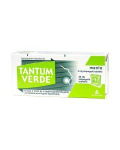 Tantum Verde menta 3mg szopogató tabletta