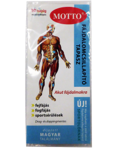 Motto rheumatapasz bőrbarát kék