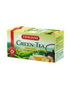 Teekanne Green tea gyömbér és citrom ízű