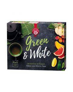 Teekanne Green & White teaválogatás