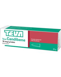 Teva-Candibene 10 mg/g krém (régi: Candibene krém)