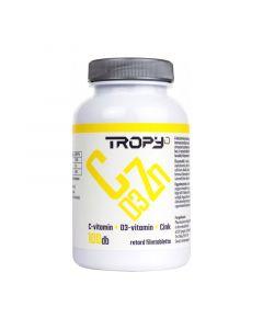 Tropy C-vitamin 1000 mg + D3-vitamin + Cink retard filmtabletta