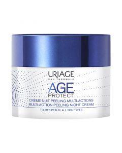Uriage Age Protect Peeling éjszakai ránctalanító krém (Pingvin Product)
