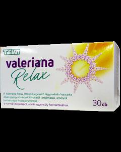 Valeriana Relax Gyógynövénykivonat kapszula
