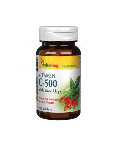 Vitaking C-vitamin  500 mg csipkebogyó tabletta