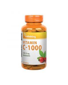 Vitaking C-vitamin 1000 mg csipkebogyó tabletta
