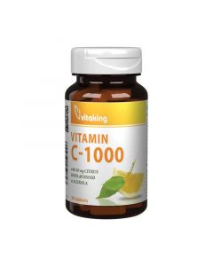 Vitaking C-vitamin 1000 mg acerola+csipkebogyó tabletta