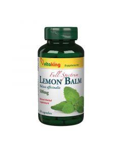Vitaking Citromfűlevél 500 mg kapszula