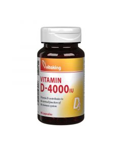 Vitaking D-vitamin 4000NE kapszula