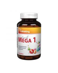 Vitaking Mega-1 multivitamin ásványi tabletta