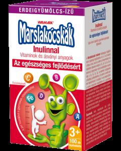 Walmark Marslakócskák Inulin erdeigyümölcs ízű rágótabletta (Pingvin Product)