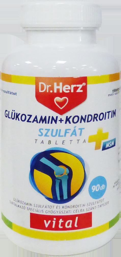 gyógynövény glükózamin-kondroitin