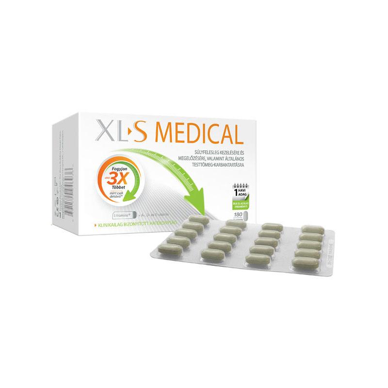 xls medical étvágycsökkentő tabletta
