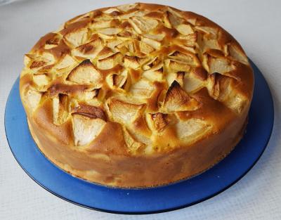 Könnyű almás sütemény
