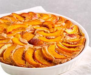 Puha őszibarackos sütemény
