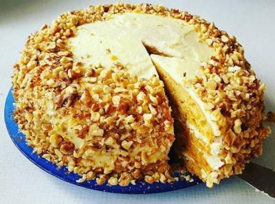 Sárgarépa torta mascarpone krémmel