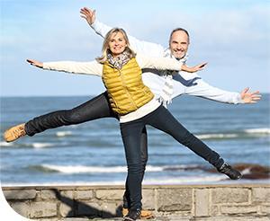 Egyensúlyfejlesztő gyakorlatok időseknek