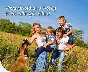 Vitaminokkal a hőség és az allergia ellen